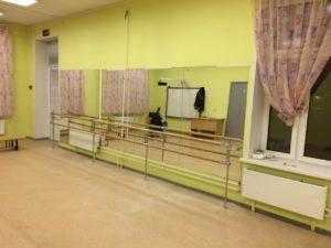 Балетный станок для хореографического зала под заказ