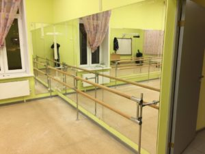 Проект по изготовлению зеркал в студию танцев